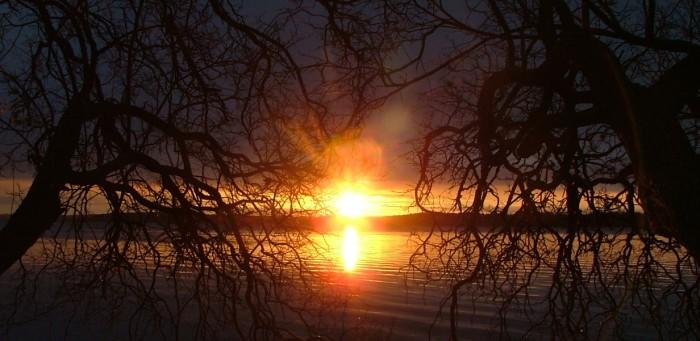sunrise - November 1st, 2012 - Green Lake, WI