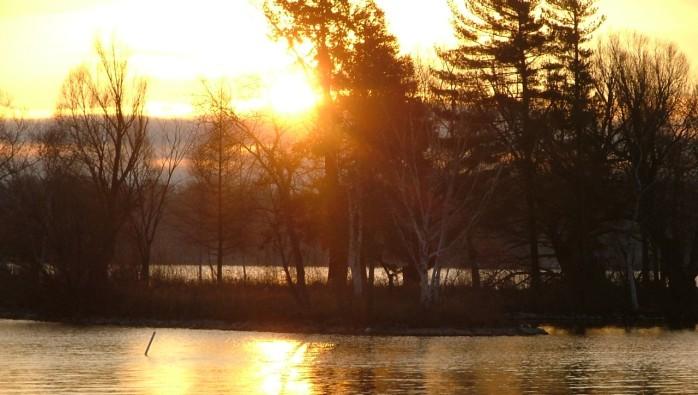 december 8th, 2012 sunrise over green lake