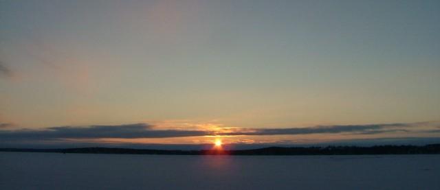 february 8th, 2013, sunrise over frozen green lake 004