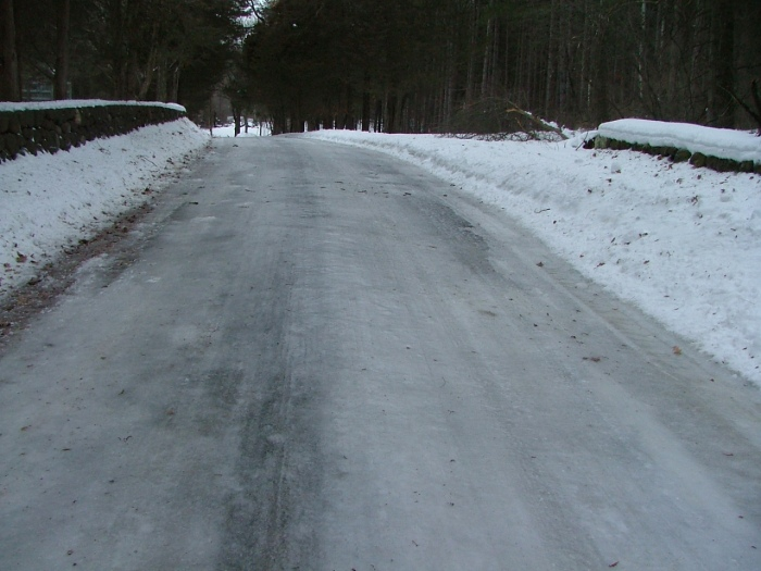 icy path, february 12th, 2013