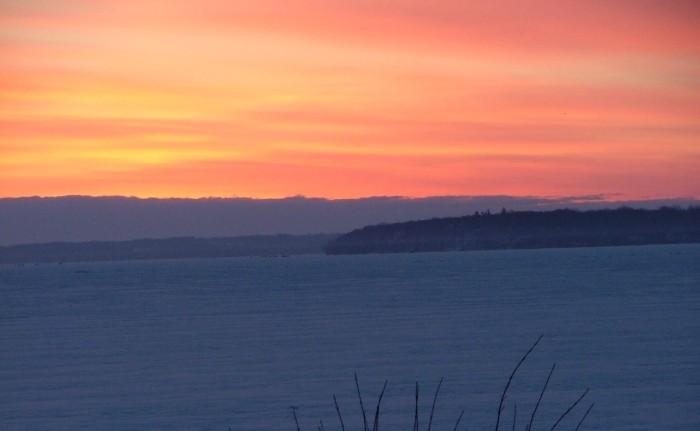 sunrise March 23rd, 2013