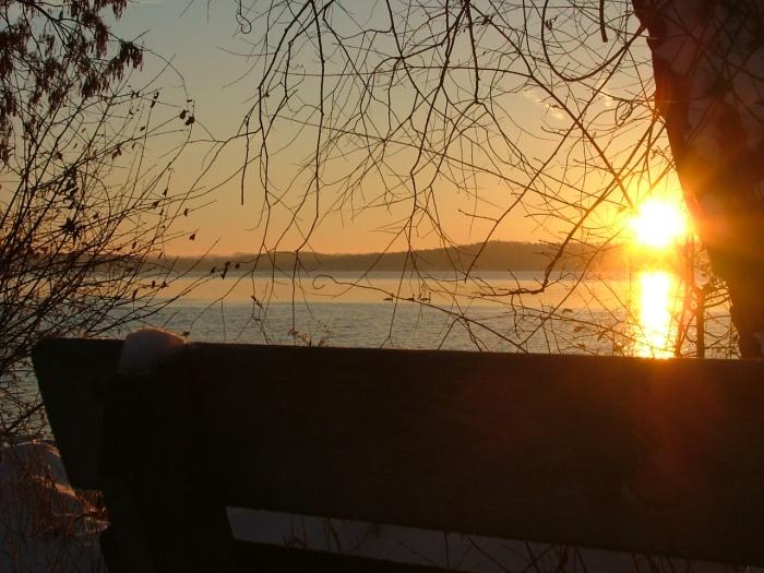 Sunrise snowy morning 013
