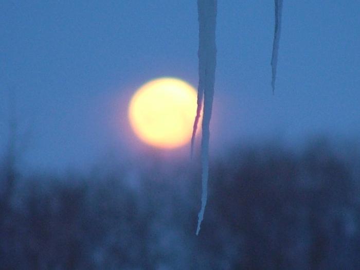 moonset and sunrise 2.15.2014 001