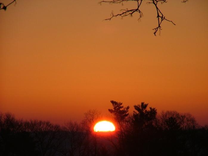 moonset and sunrise 2.15.2014 036