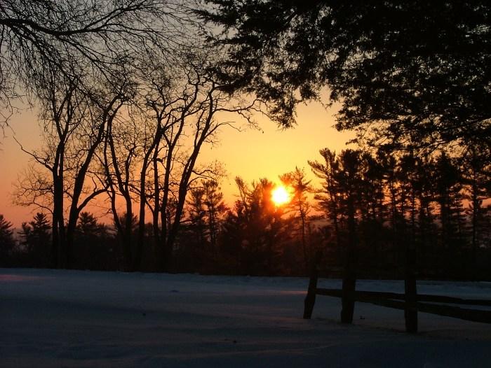 moonset and sunrise 2.15.2014 044
