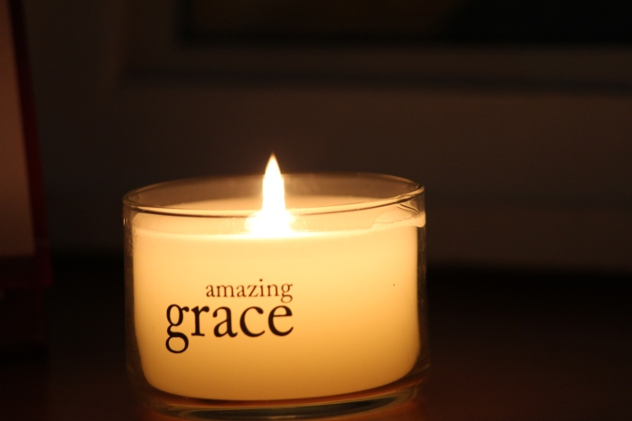 amazing grace, candle, light 001